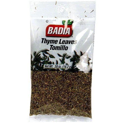 Badia Thyme, 0.5 oz (Pack of 12)