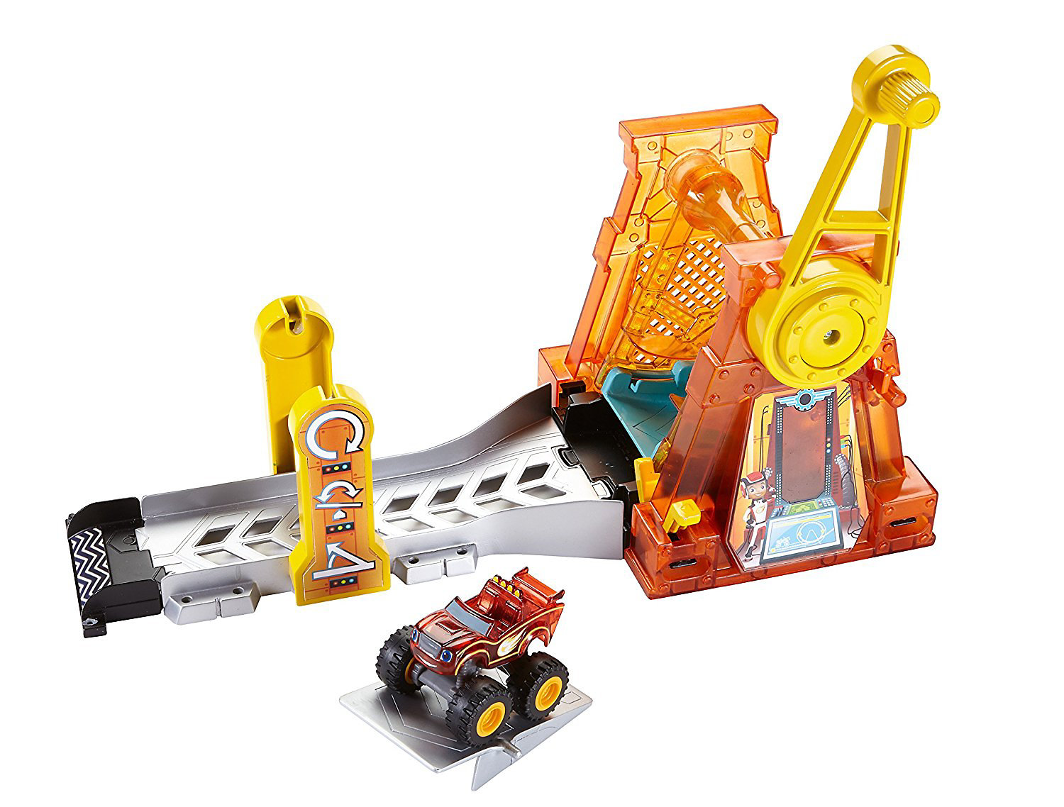 Fisher Price Nickelodeon Blaze & the Monster Machines Light & Launch Hyper Loop Playset by Mattel