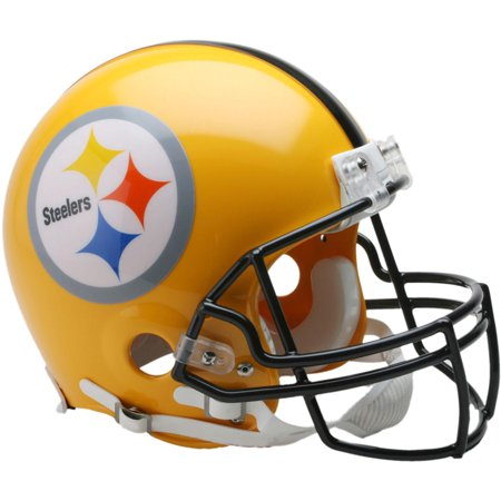 Riddell Pittsburgh Steelers VSR4 2007 Throwback Mini Football Helmet