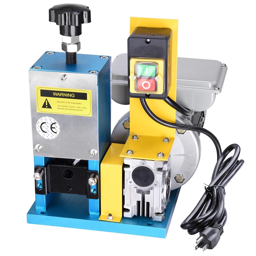 Automatic Wire Cutters Copper Center Portable Transistor Tester Circuit Diagram Tradeoficcom Yescom Electric Stripping Machine Benchtop Powered Rh Walmart Com Air Operated Cutter