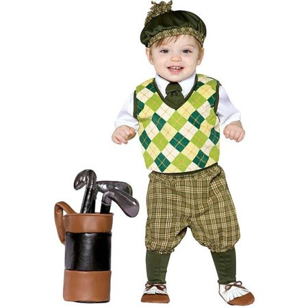 Future Golfer Costume Toddler Boy, Toddler (Men's Golfer Costume)