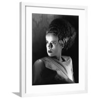 THE BRIDE OF FRANKENSTE 1935 directed by JAMES WHALE Elsa Lanchester (b/w photo) Framed Print Wall Art
