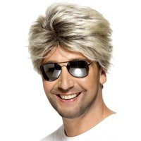 80's Street Wig Adult Costume Accessory