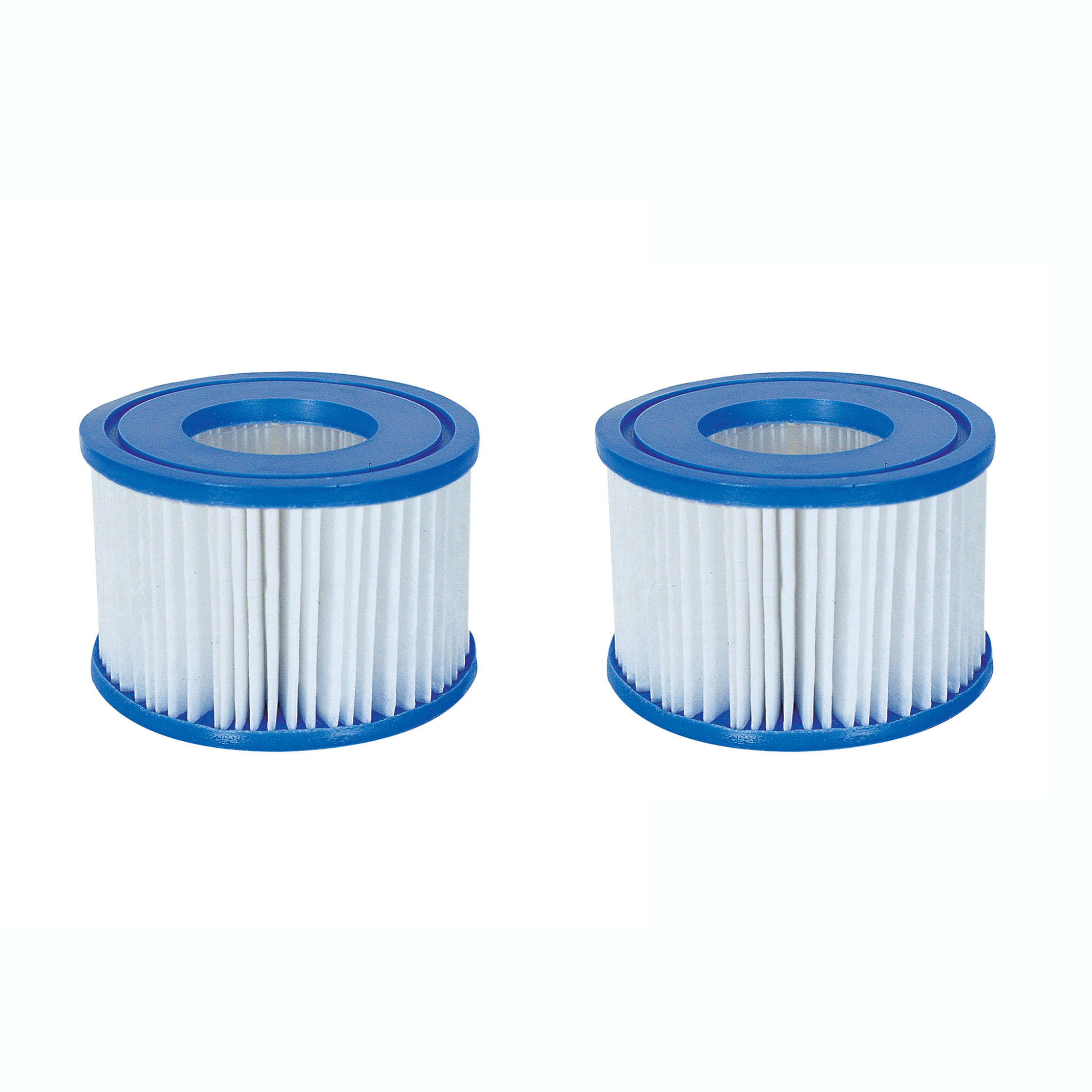 Bestway Spa Filter Pump Replacement Cartridge Type VI SaluSpa Hot Tub (2 Pack)