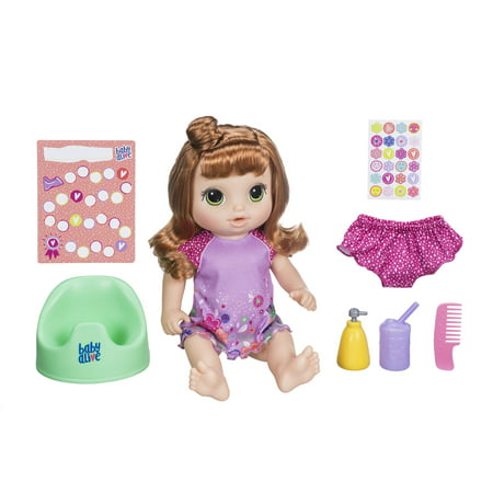 Baby Alive Potty Dance Exclusive (Red Curly Hair)