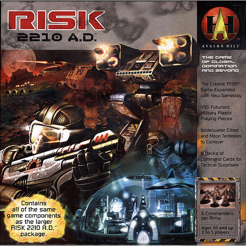 Wizards of the Coast RISK 2210 A.D. Game by Generic