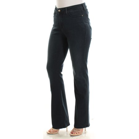 NYDJ Womens Navy Boot Cut Jeans  Size: 10