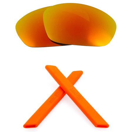 Straight Jacket Replacement Lenses & Accessories Kit by SEEK OPTICS fits (Eye Jacket Lenses)