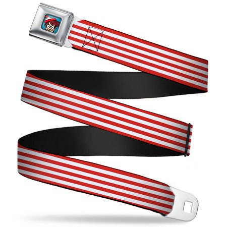 Waldo Bottom Crop Full Color Blue Waldo'S Sweater Stripes Red White Webbing Seatbelt Belt Standard