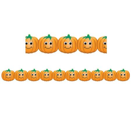 Happy Pumpkins Border - image 1 of 1