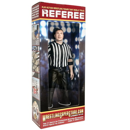 Three Counting and Talking Wrestling Referee Action