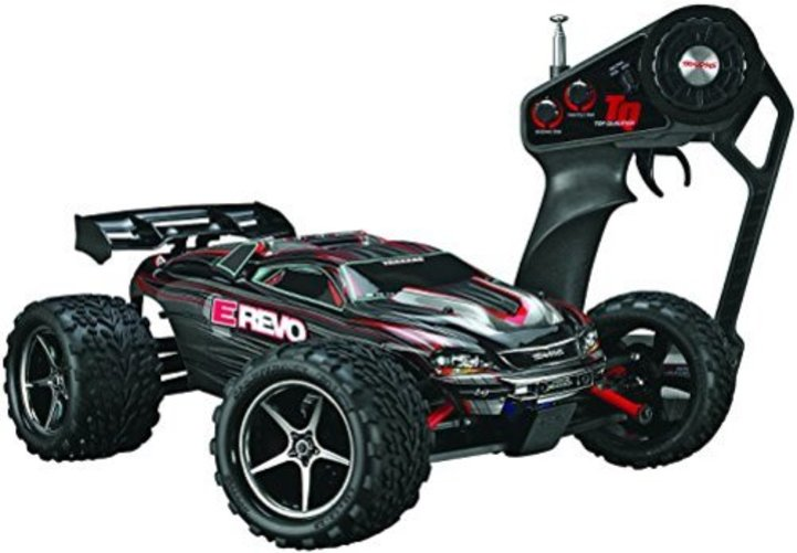 Traxxas 1 16 E-Revo Brushed 2.4GHz Vehicle Multi-Colored by TRAXXAS