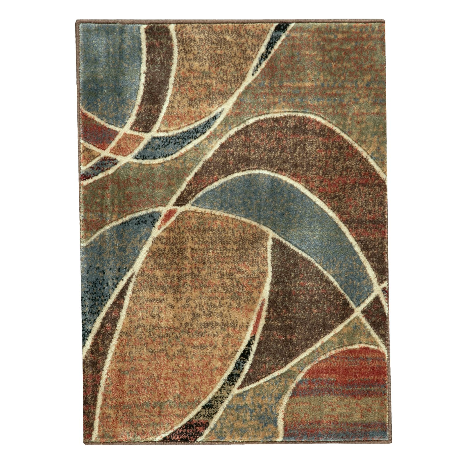 Nourison Abstract Arches Opulon Yarn Rug, Multi-Color