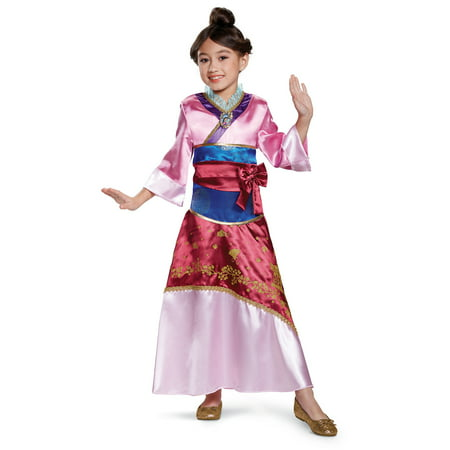 Mulan Costume Adults (Mulan Deluxe Girls Costume 21398 -)