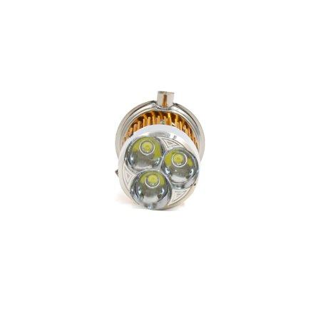 3H4 9W LED Projecteur ampoule lampe en métal aluminium pour voiture électrique Moto - image 2 de 4