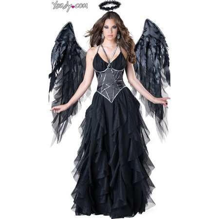 Sexy Dark Angel Costume, Black Angel Costume](Dark Angel Accessories)