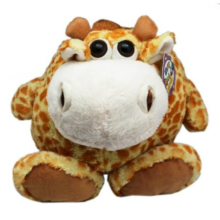 Eye Balls Stretch Cute Big-Eyed Giraffe Plush Toy - By Ganz (14in)