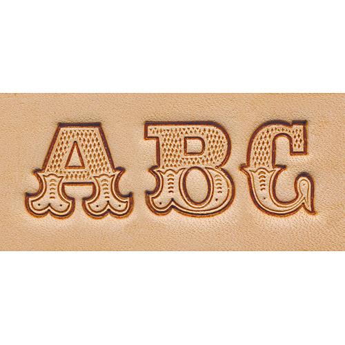 """Craftool Alphabet Set, .75"""""""