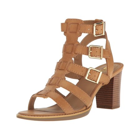 Steven Leather Strappy Sandals (White Mountain Womens Gemmy Leather Open Toe Casual Strappy)