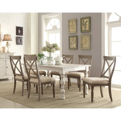 August Grove Mckenzie 7 Piece Extendable Dining Set