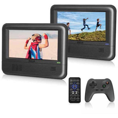 RCA Mobile DVD System with Bonus Game Controller and Games