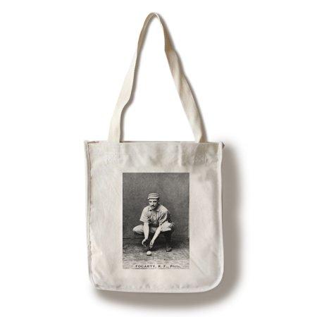 Jims Bag (Philadelphia Quakers - Jim Fogarty - Baseball Card (100% Cotton Tote Bag - Reusable))
