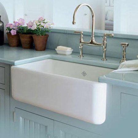 Deep Fireclay Sink - RC3018WH 30