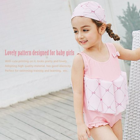 ed42c91cccd21 TOPINCN - Lovely Baby Girls Buoyancy Swimsuits Children s Swimwear for Learning  Swimming
