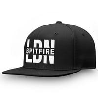 London Spitfire Fanatics Branded Profile Adjustable Snapback Hat - Black - OSFA