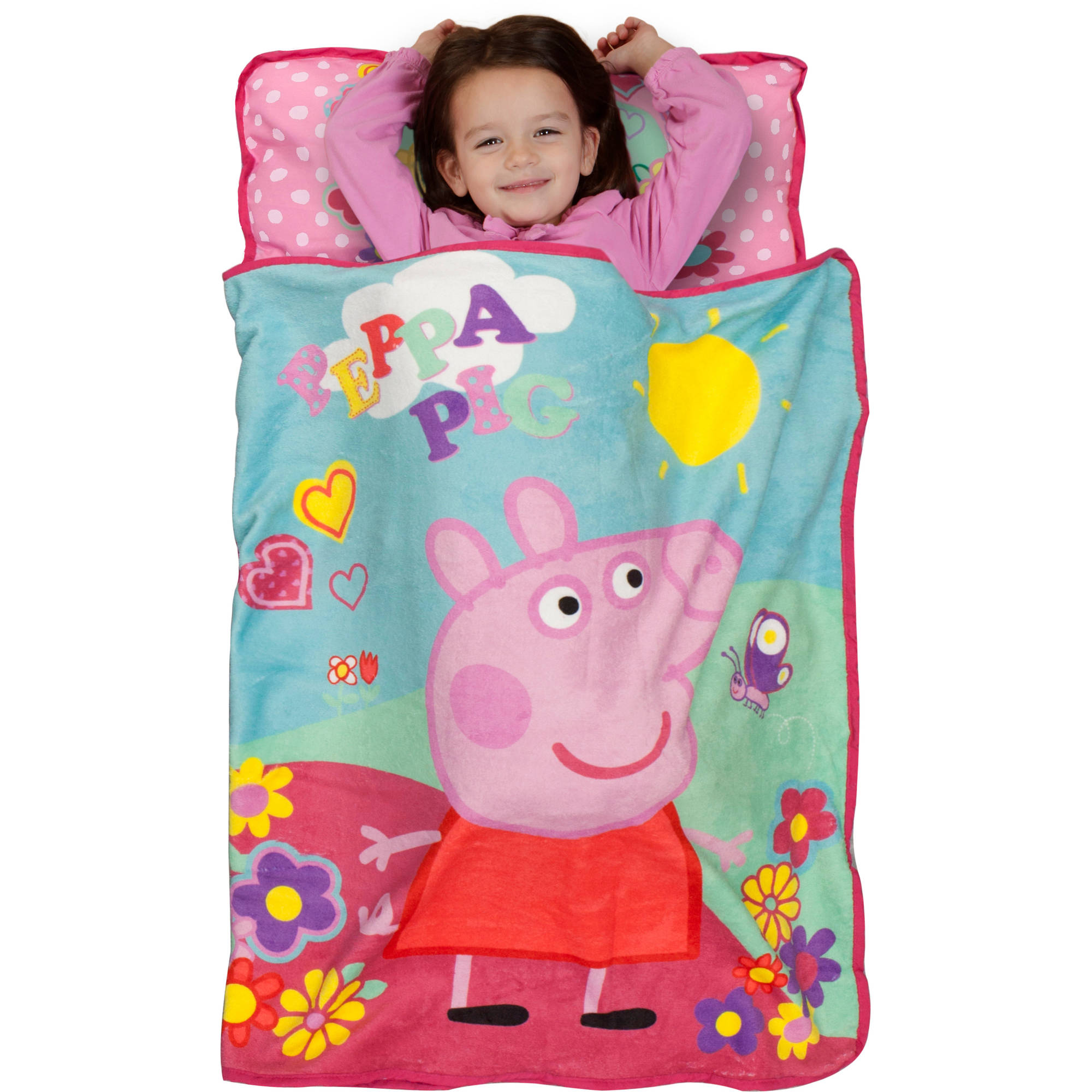 "Peppa Pig ""ADORABLE""  Toddler Nap Mat"