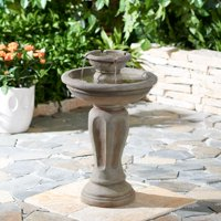 "Better Homes & Gardens 28"" Loyola Two-Tier Water Fountain"