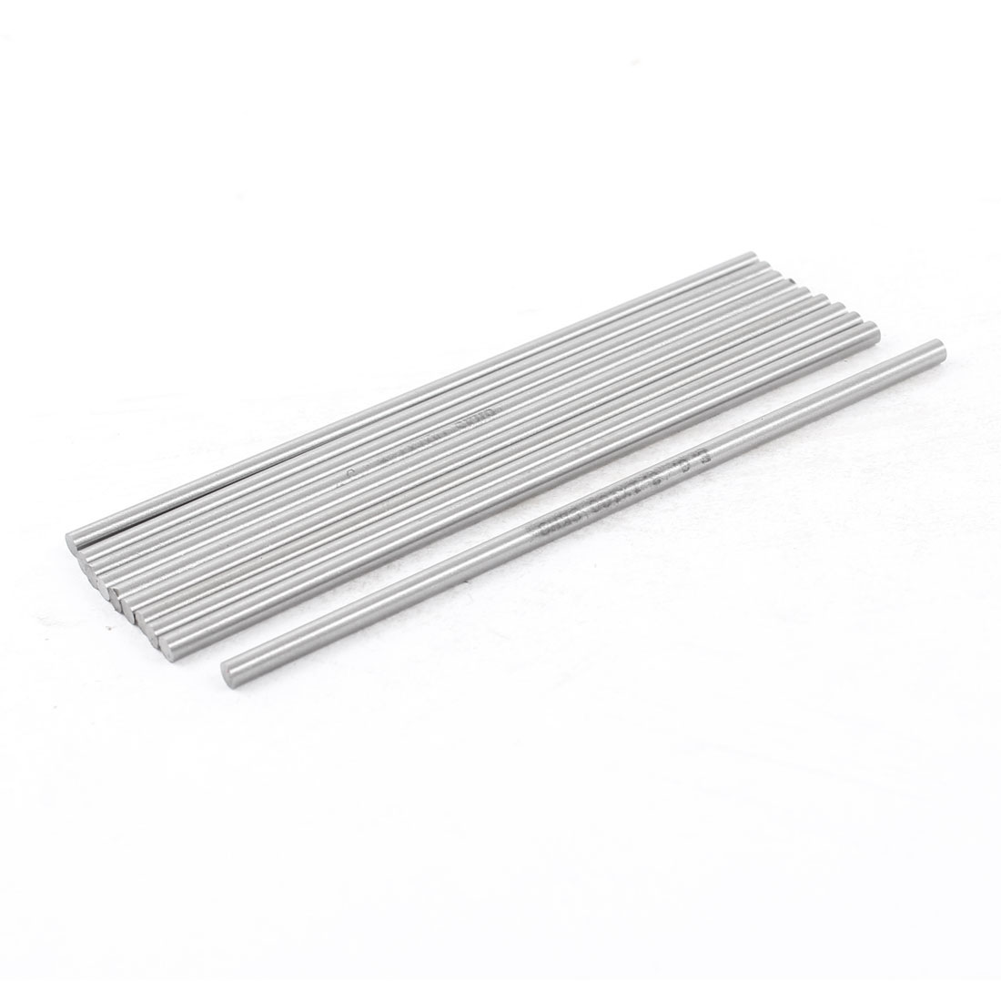Unique Bargains 10 Pcs 3.1mm x 100mm HSS Grooving Tool Round Turning Lathe Bars Silver Gray - image 1 de 1