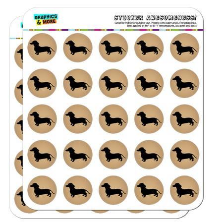 Dachshund Dog Sticker (Dachshund Wiener Dog 1