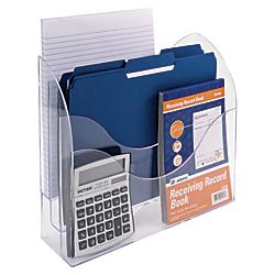Innovative Storage Designs 3 Tier File Organizer, Clear
