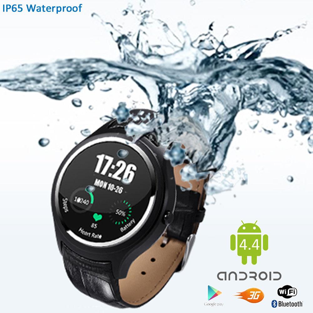 inDigi Stylish Watch 3G SmartPhone Android 4.4 WiFi Heart...