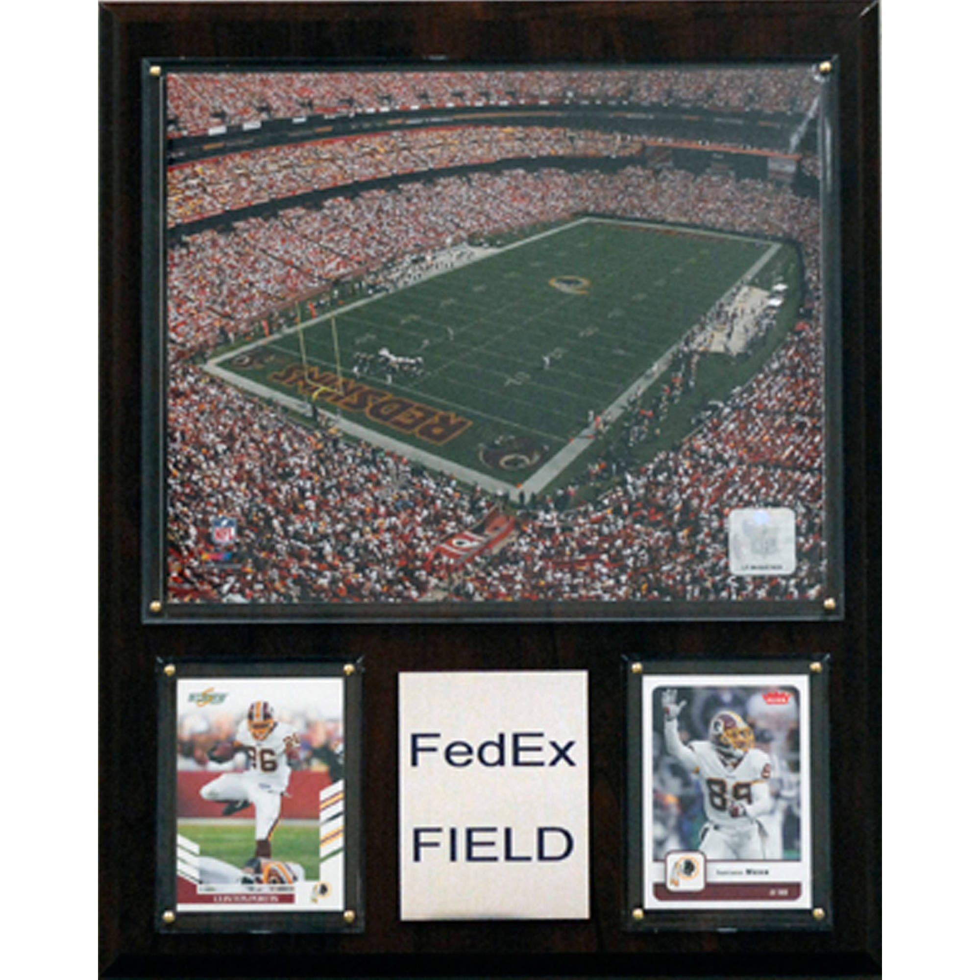 C&I Collectables NFL 12x15 FedEx Field Stadium Plaque