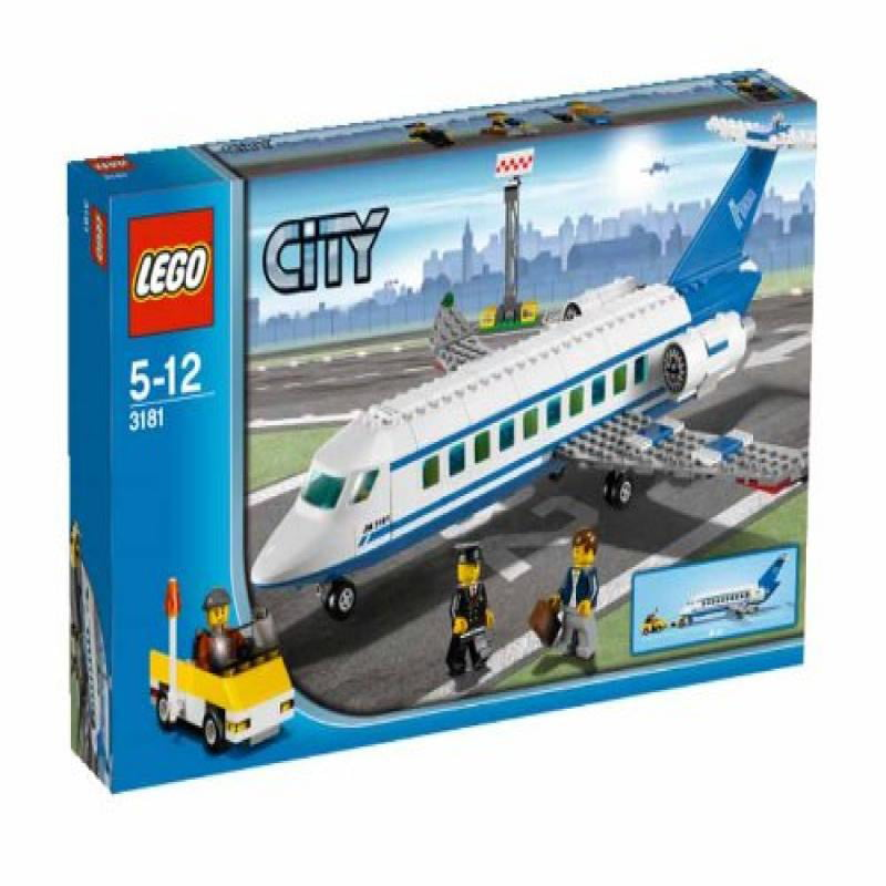 Click here to buy Lego Passenger Plane 3181 (Discontinued by manufacturer).
