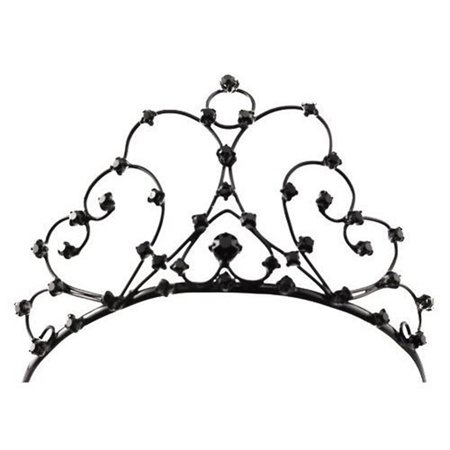 Black Gothic Tiara Costume Crown - Costume Crowns And Tiaras
