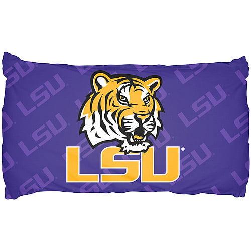 NCAA Pillow Case, LSU Tigers