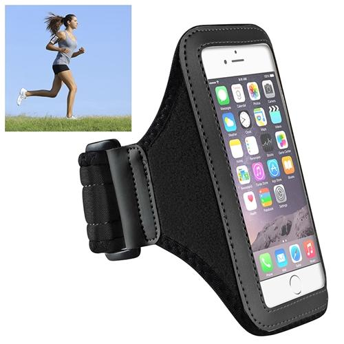 "Insten Black Workout Gym Pouch Armband Sportband Phone Holder Case For iPhone 8 7 6 6S 4.7"" / Samsung Galaxy S6 / S6 Edge"