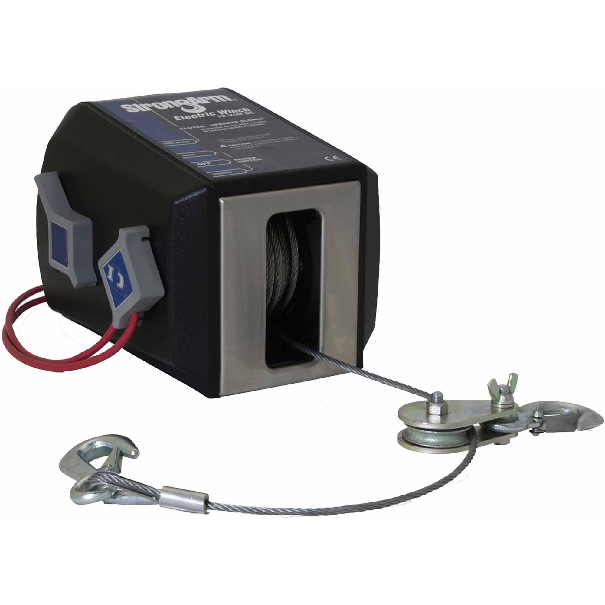 Dutton-Lainson 24874 StrongArm SA Series Electric Winch, 12V, 4500 lbs