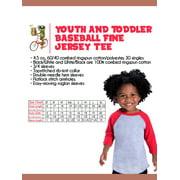 Awkward Styles Toddler 4th Birthday Raglan Shirt For 4 Year Old Kids Girls
