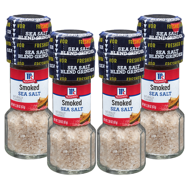 McCormick Smoked Sea Salt Grinder, 2.39 Oz Bottle (2 Pack)