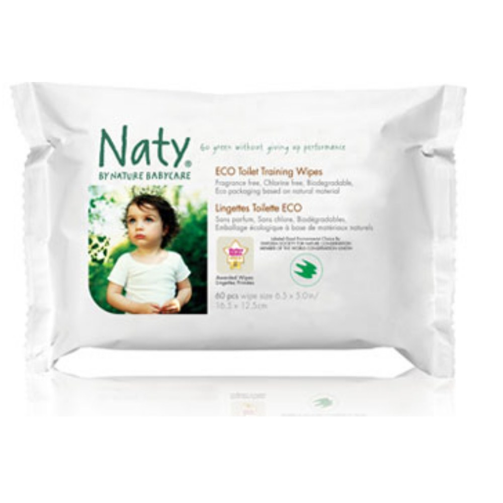 Nature Babycare Toilet Training Wipes 42 sheets