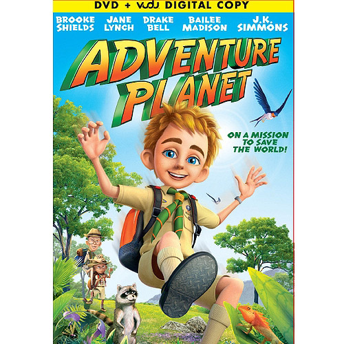 Adventure Planet (DVD   VUDU Digital Copy) (Walmart Exclusive) (With INSTAWATCH) (Widescreen)