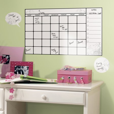 RoomMates Dry-Erase Calendar Peel-and-Stick Wall Decal
