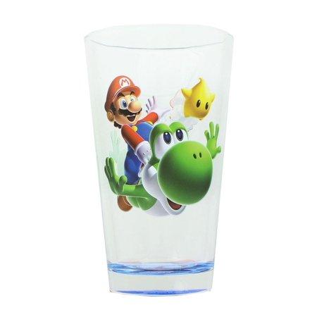 Super Mario Galaxy Mario and Yoshi Pint (Super Glasses)