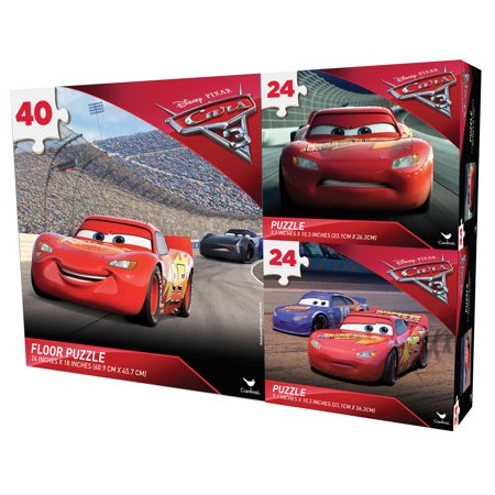 Disney Pixar's Cars 3 Puzzle Bundle Only $3.99