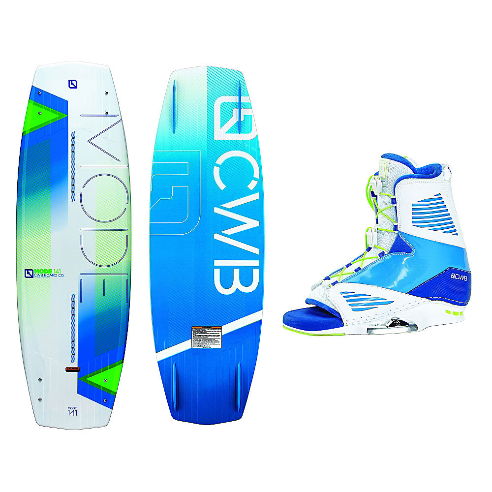 Click here to buy CWB Mode Wakeboard With Draft Bindings by CWB.