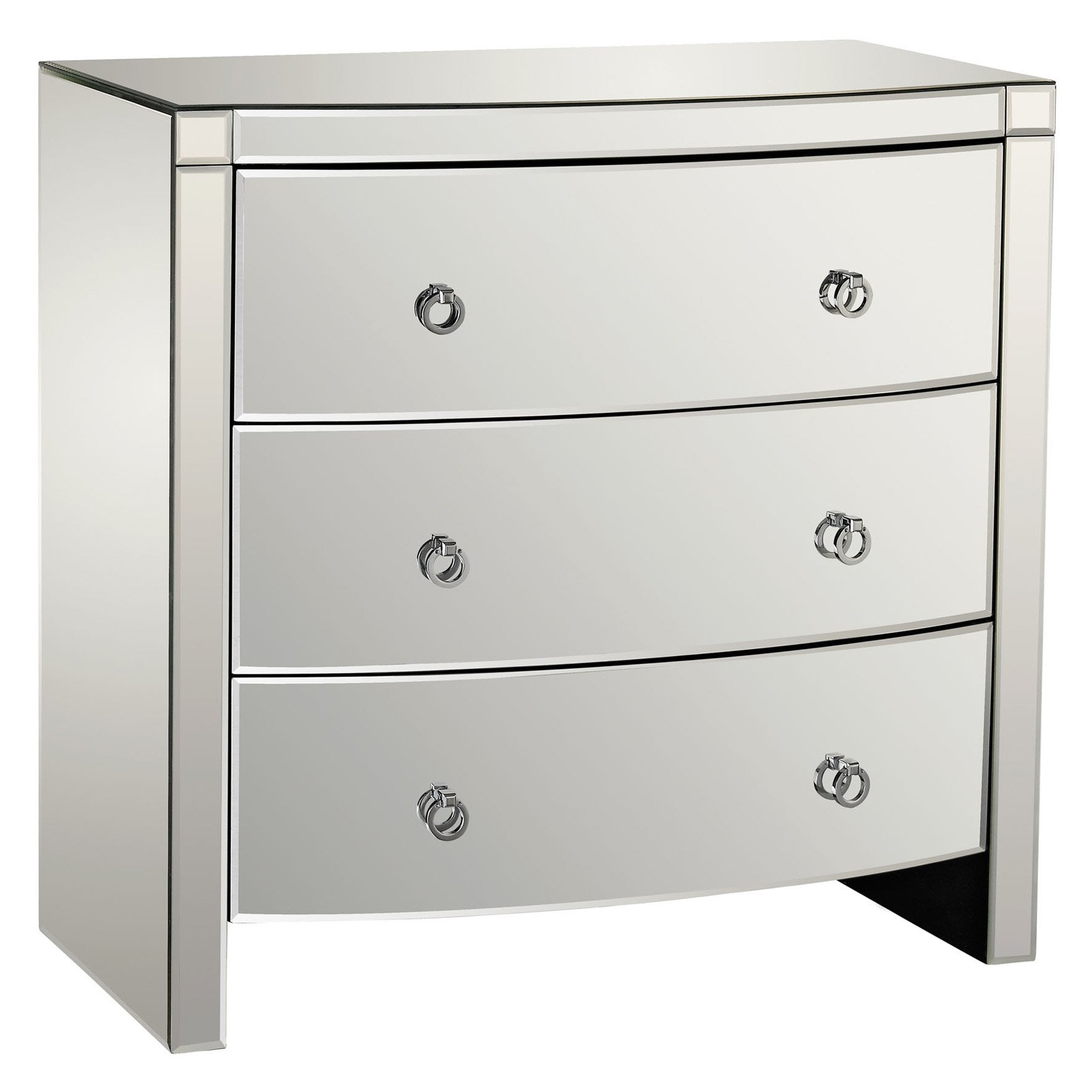 Dimond Home Bow Front 3 Drawer Decorative Chest